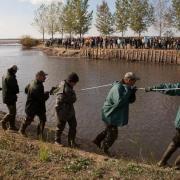 Lehalászás Hortobágyon