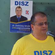 Dr. Dobrossy István a  DISZ polgármesterjelöltje