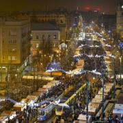 Gyertyagyújtás Debrecenben