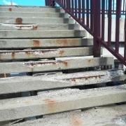 A balesetveszélyes lépcső