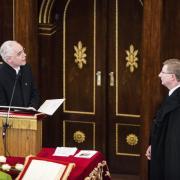 Balog Zoltán emberi erőforrások minisztere és Fekete Károly