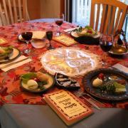 Pészach: ünnepi asztal