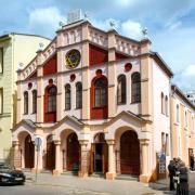 A megújult, Pásti utcai zsinagóga