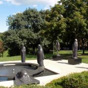 A filozófusok kertje szoborcsoport a Gellért-hegyen