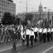 Zászlós felvonulás