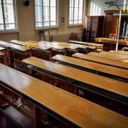 Nyomasztóan hat az üres tanterem  Fotók: Égerházi Edit