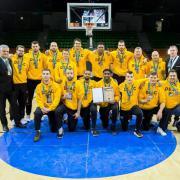 A bronzcsapat   Fotó: Derencsényi István