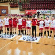 A győztes csapat  Fotó: dvsckezilabda.hu