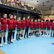 A reményteli magyar csapat  Fotó: mksz.hu