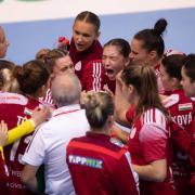 Fontos a lelkesítés csapaton belül is  Fotó: dsvckezilabda.hu