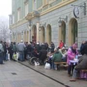 Debrecen több pontján naponta van ingyenebédosztás