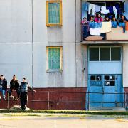 Miskolci lakótelep: ez is a szegénység egy formája